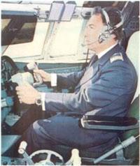 За штурвалом самолета ил 62